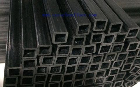 Plutrusion carbon fiber rectangular tubes