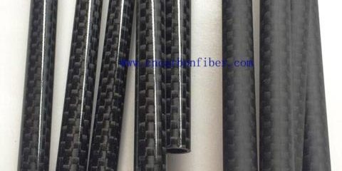 6mm 7mm 8mm 3K plain carbon fiber tubes