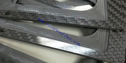 One-stop cnc cutting service carbon fiber sheet for special parts