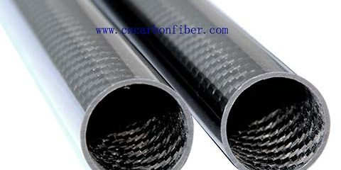 glossy carbon tubes