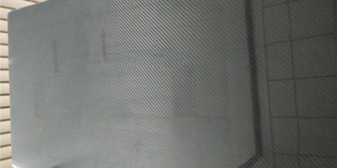 Carbon fiber medical bedplate