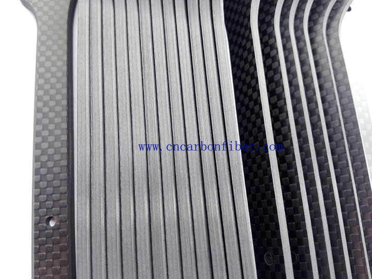 Carbon fiber plate cutting