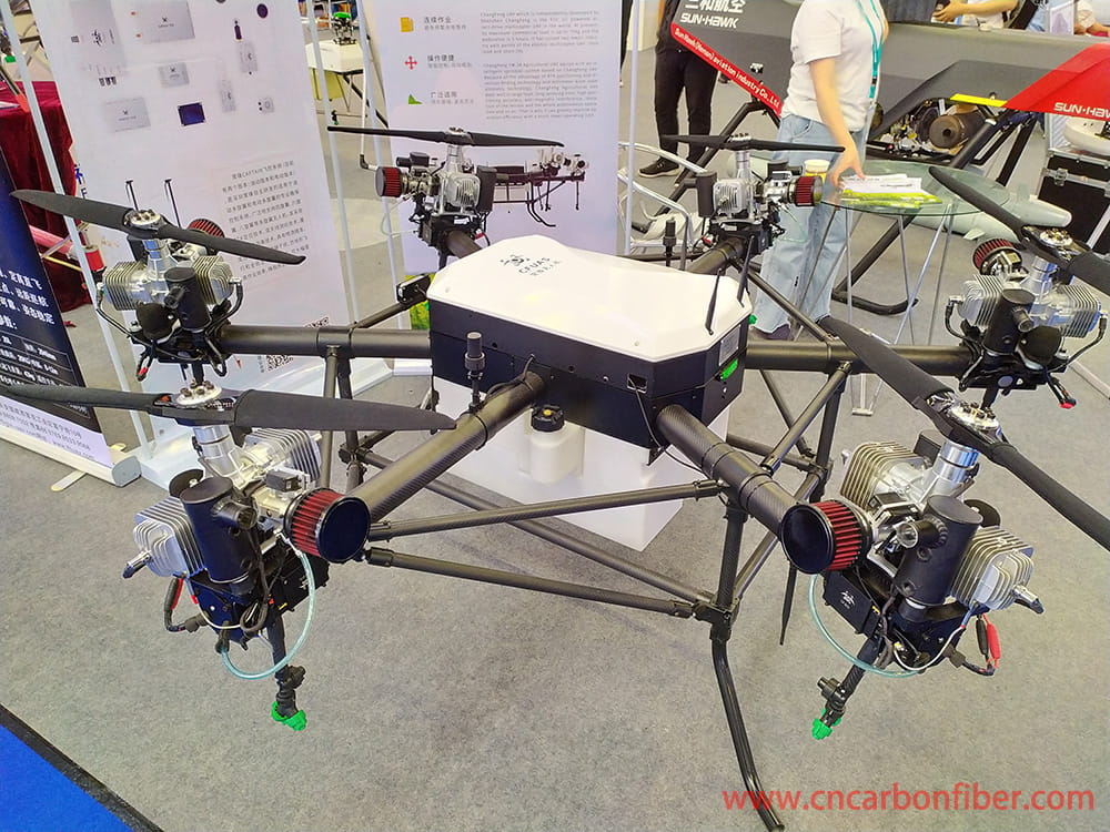 carbon fiber tube and plant protection uav