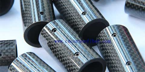 Drilling hole in carbon fiber tube
