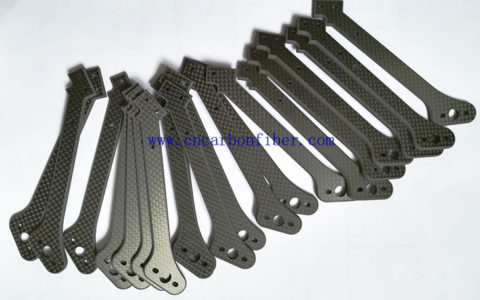 customized carbon parts for octocopter frame