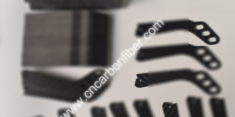 Customized 100% Carbon Fiber CNC Cutting Parts