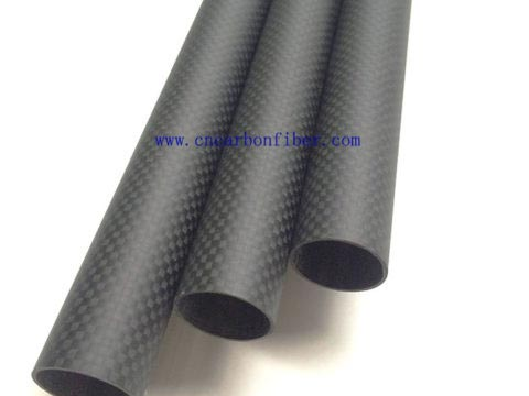 Abester Roll Carbon Fiber Tube ID 10mm x OD 12mm x 1000mm 3K Glossy Surface for RC Hobby 1 Piece