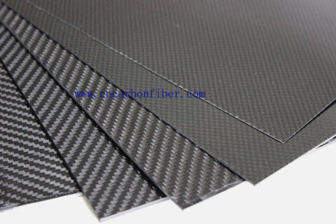 1000X600X2.0mm 3K twill matte full carbon fiber sheet