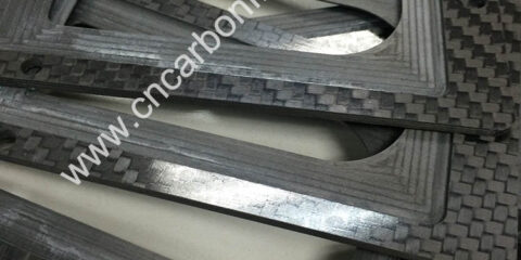 CNC Carbon Fiber sheet Customized Cutting
