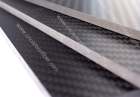 1000X600X3.0mm 3K twill matte full carbon fiber plate