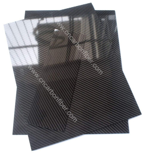 1000X1500X2.0mm 3K carbon fiber sheet